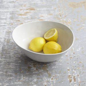 Astrid White Porcelain Passing Bowl