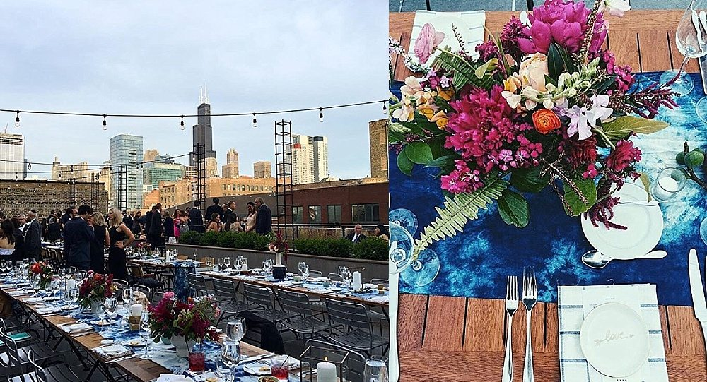 Backyard Roofdeck Wedding