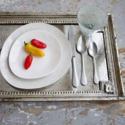 Lofton White Porcelain Salad Plate