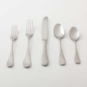 Merriweather Stainless Steel Flatware Set (five piece set)