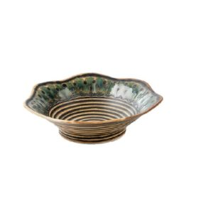 Jamilla Handmade Porcelain Serving Bowl