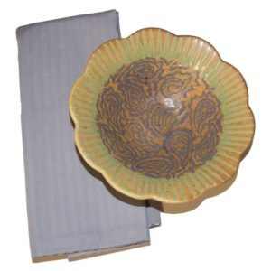 Hester Pattern Ceramic Bowl