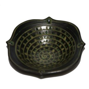 Jetta Pattern Ceramic Bowl