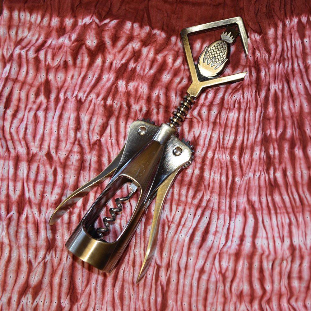 Foster Metal Pineapple Bottle Opener   EC\'s Home Store