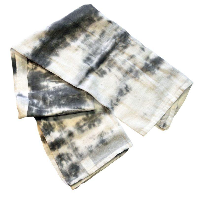 Barbara Gray and White Tea Towel