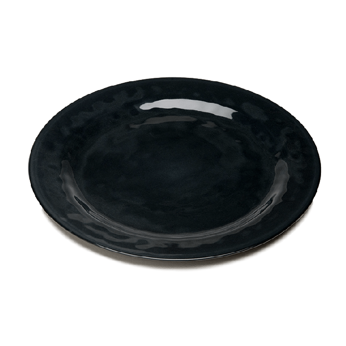 Margot Black Porcelain Dinner Plate  sc 1 st  Entertaining Company & Margot Black Porcelain Dinner Plate | ECu0027s Home Store