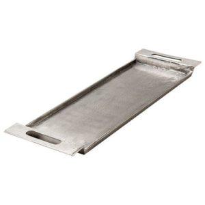 Edie + Cari Silver Metal Serving Tray Set
