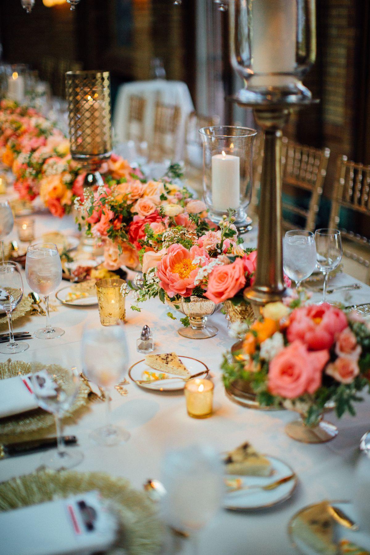 Cafe Brauer Vibrant Summer Wedding Entertaining Company