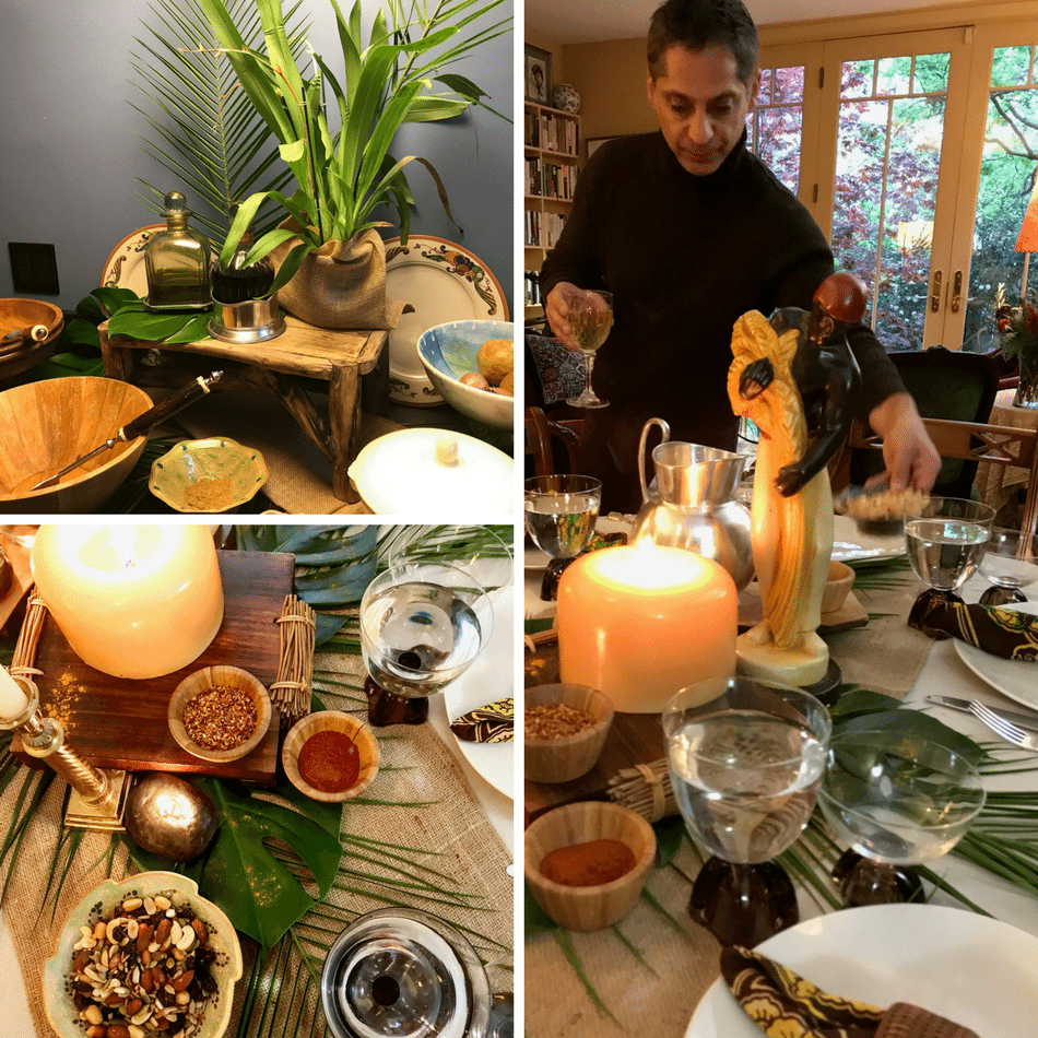Out Of Africa Inspired Private Dinner