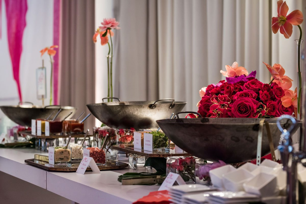 spring baby shower at chez chicago catering by entertaining company