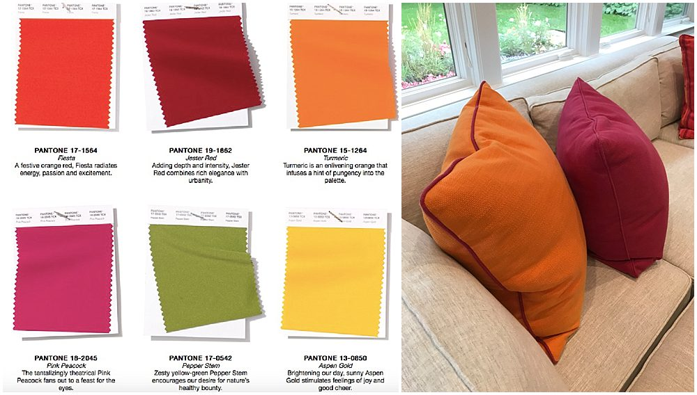 Pantone 2019 Color Trends Ideas Our Pink And Orange Party